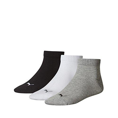 Puma 251015 - Calcetines de deporte para hombre grey / white / black