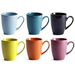 12 OZ Ceramic Coffee Mug Set