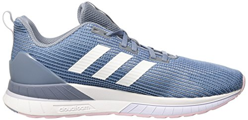Tnd Mujer Aero Zapatillas adidas White W Questar para Footwear Raw Blue Grey 0 Azul XqwSSZ5