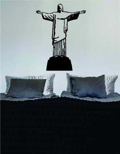 - Cristo Redentor Brazil Statue Decal Sticker Wall Vinyl Art Design Beautiful