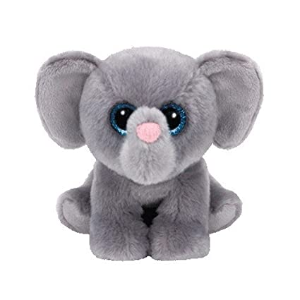 Amazon.com  Ty Beanie Babies Whopper The Elephant Plush  Toys   Games ec2b9676aa9