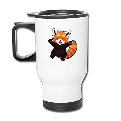 anhuishop Cartoon Red Panda Feeling Happy Novelty Stainless for sale  Delivered anywhere in Canada