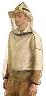 Bug Jacket Hood & Pants with Free Carry Pouch - Anti Mosquito Net Repellent Clothing - Ultimate Protection from Bugs, No-See-Ums, Midges. Perfect for Hiking, Camping, Fly Fishing & Outdoor Activities