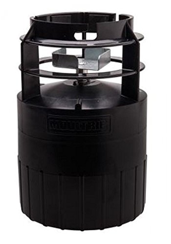 Mfg Metal - Moultrie Pro Hunter Feeder Kit | Quick-Lock Adapter | ABS Plastic Housing | Metal Spin Plate