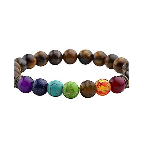 Ivyi Newst Bracelet Men Black Lava Healing Balance Beads Reiki Buddha Prayer Natural Stone Bracelet Women