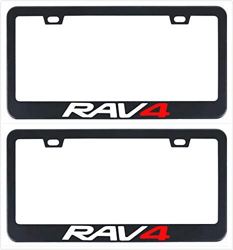 Amazon.com: Auggies Rav4 Rav-4 - Marco para matrícula de ...