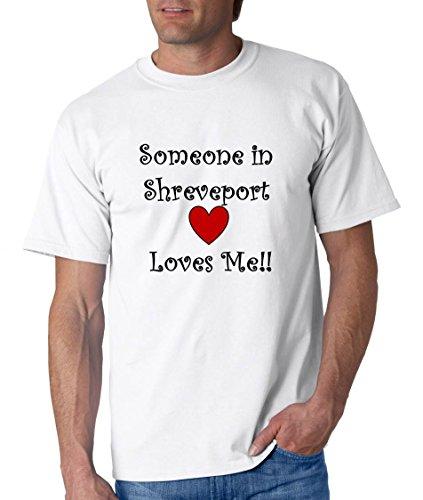 SOMEONE IN SHREVEPORT LOVES ME - City-series - White T-shirt - size XXL]()