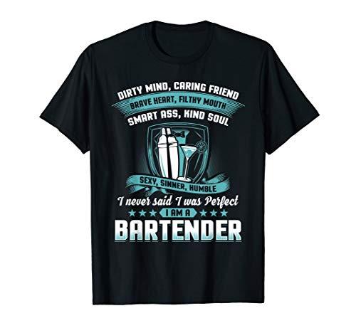 Funny Bartender Shirt Bartending Gift Drinking Bar Club Beer