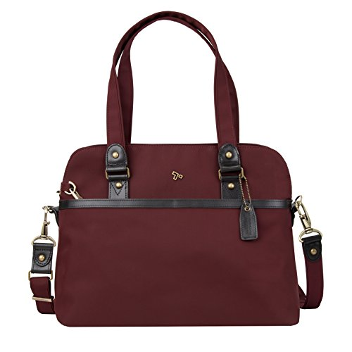 Travelon Anti-Theft Ltd Satchel, Wine by Travelon (Image #4)