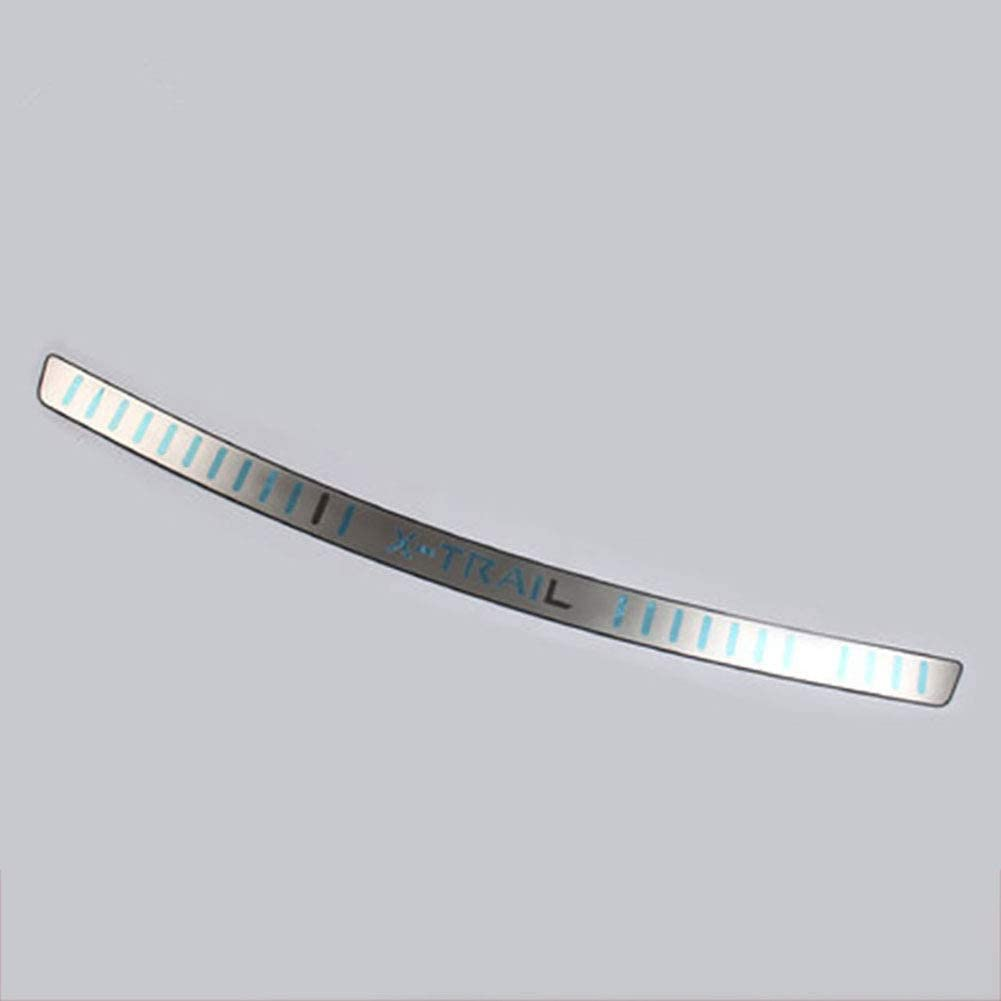 LSYBB Car styling Stainless Steel Rear Bumper Protector Sill Trunk Tread Plate Trim For Nissan X-Trail T32 2014-2016