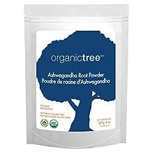 OrganicTree ashwagandha root powder, 227 Gram