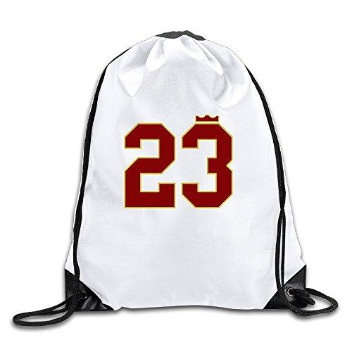 JADR Custom Akron Basketball Player 23.PNG Comfortable Teenager Backpack - Shoe Akron