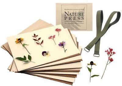 Amazon Com Natures Pressed Flower Leaf Press 7 X 9 Nature Press
