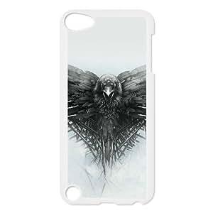iPod Touch 5 Caso Blanco Juego de Tronos Todos los hombres deben morir personalizada 18D caja del teléfono P4J2VH