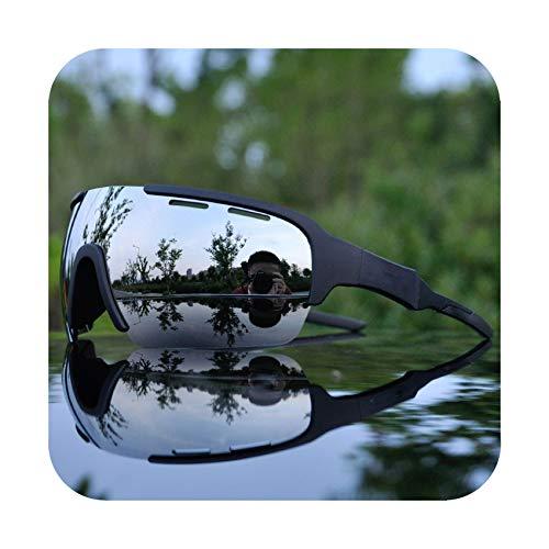 Polarized Cycling Glasses Outdoor Sports Cycling Goggles Men Cycling Sunglasses Mountain Bike Cycling Eyewear ()