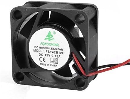 40mm x 20mm 4020 DC 12V 0.15A 2 cables sin escobillas de ...