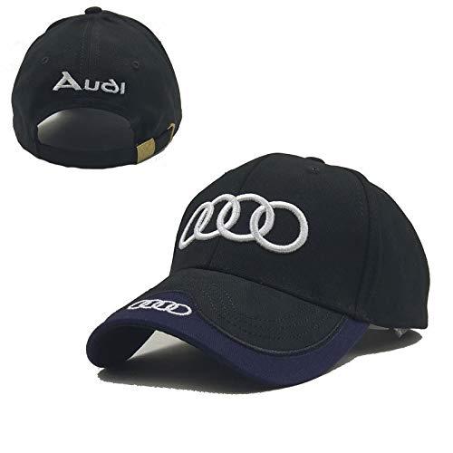 monochef Auto sport Car Logo Black Baseball Cap F1 Racing Hat (Audi) (Cap Audi)