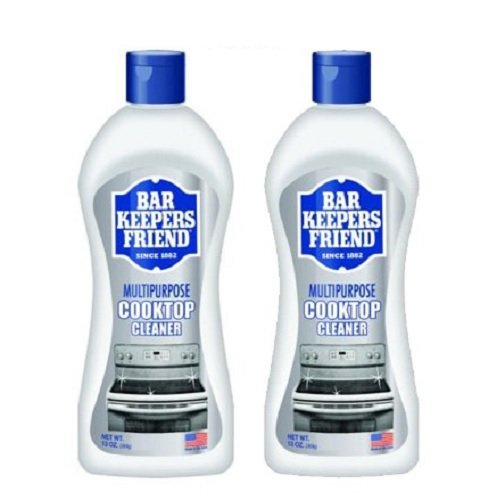 Bar Keepers Friend Cooktop Cleaner 13-Ounce Bottle 2pk (Brite Protection Bed)