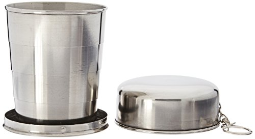 SE OD-CG265BOX Stainless Steel Collapsible Cup with Hard Case Ii 85 Oz