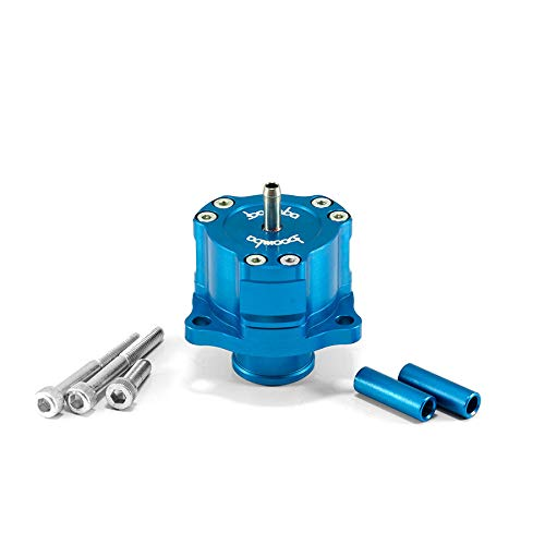 Boomba Racing Bypass Valve Fully Adjustable Blue for 2013+ Ford Focus ST