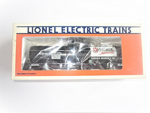 - LIONEL O Scale #6-6323 LCCA 1986 Virginia Chemicals Single Dome Tank CAR