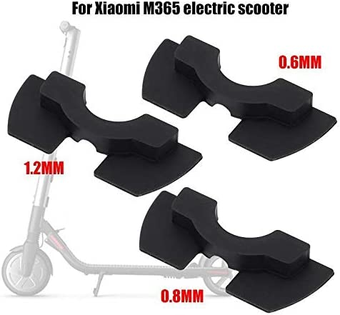 Aluprey 3 pcs 1 Set Rubber Shock Absorber Damping Pad compatible with Xiaomi M365 Electric Scooter