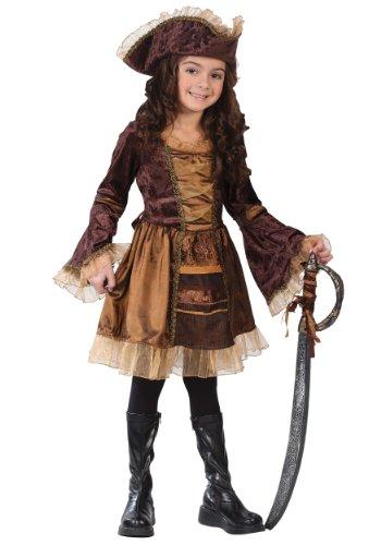 Big Girls' Sassy Victorian Pirate Costume - M]()