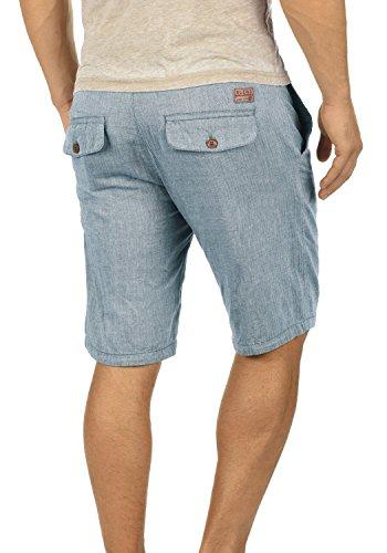 Blue Pantaloncini Regular Niagara Bermuda 100 Apollo Blend Da Shorts Lino 74628 Uomoin Di Cotone Fit Uq4CwxOT