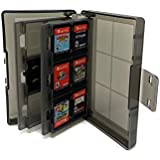Estuche Viaje Para Nintendo Switch Porta Videojuegos Para 24 Juegos de Switch o Lite Game Card Storage Holder Hard Case for N