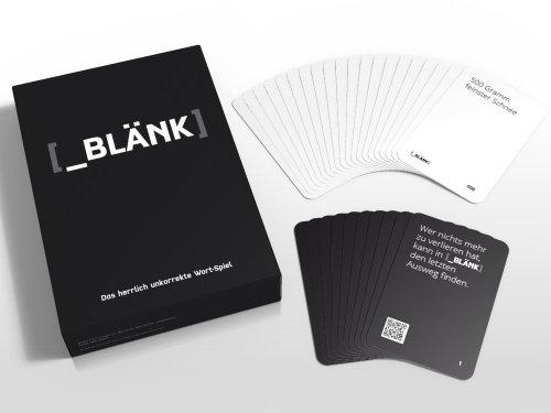 blank kartenspiel