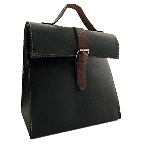 (Maralgui Washable Paper Lunch Bag (Black))