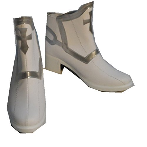 Sword Art Online Asuna Yuuki Cosplay Costume Boots Boot Shoes Shoe -