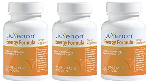 Juvenon Energy Formula 120 capsules - 3 Pack by Juvenon