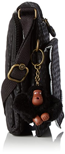 Emb épaule Eldorado Scarlet Sacs portés Noir Black Kipling w1HqWSW