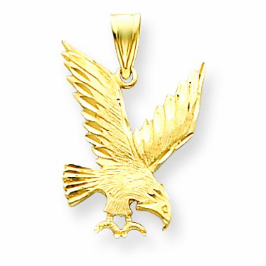 14 ct 585/1000 Or Aigle-Charme-Pendentif
