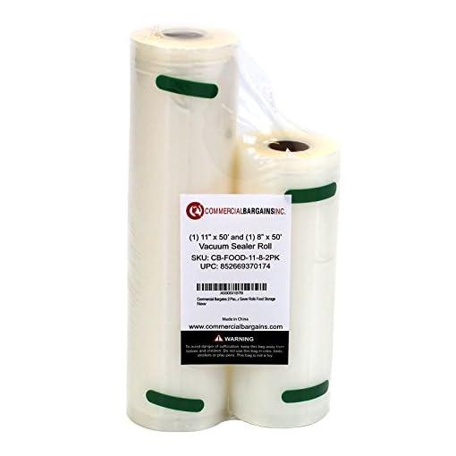 Commercial Bargains Commercial Vacuum Sealer Saver Rolls