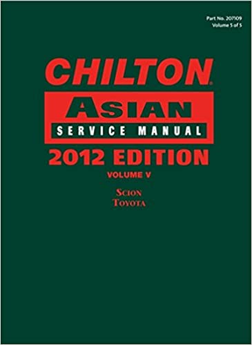 Chilton asian service manual 2012 edition volume 5 chilton chilton asian service manual 2012 edition volume 5 chilton asian service manual v5 1st edition fandeluxe Gallery
