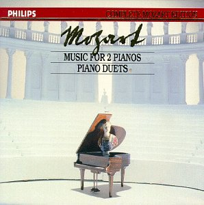 Cover of Mozart: Piano Duets / Mozart Edition 16