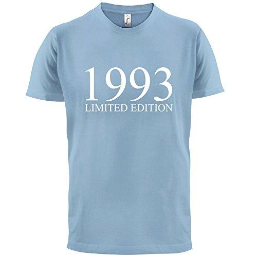 1993 Limierte Auflage / Limited Edition - 24. Geburtstag - Herren T-Shirt - Himmelblau - XS