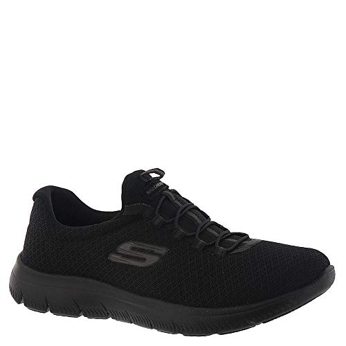 Skechers Women's, Summits Slip on Sneakers Black 8.5 M