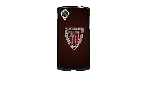 Funda de Bilbao Nexus 5 Clubde Athletic, de balón de fútbol rígida ...