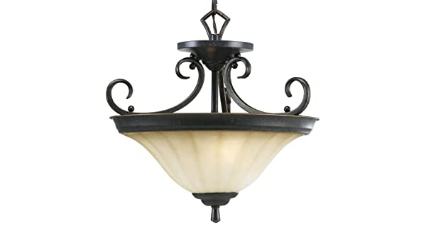 Progress Lighting P2841-84 2-Light Close-To-Ceiling Fixture, Espresso - - Amazon.com