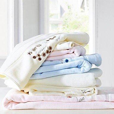 XZX 3 piezas paquete de toallas, diseño de fácil 100% toalla de algodón bordado: Amazon.es: Hogar