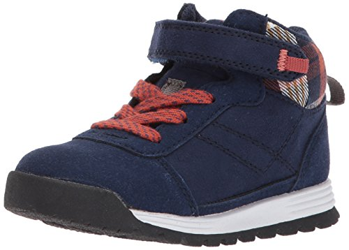carter's Boys' Pike2 Fashion Boot, Navy, 9 M US Toddler