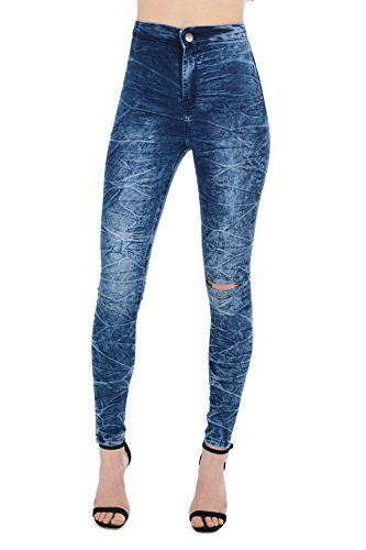 HOXTON Blue Jeans Femme Cloudy REAL gq4dIxqw
