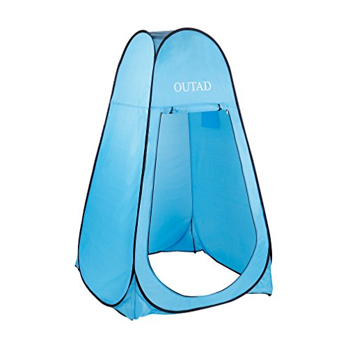 OUTAD Pop Up Privacy Tent Shelter Dressing Changing Room with Carrying Bag
