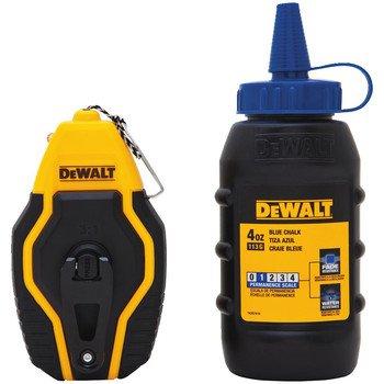 Chalk Line (Dewalt DWHT47257L Compact Reel with Blue)