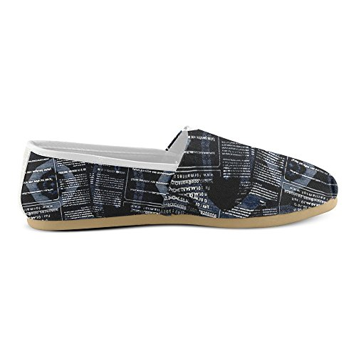 Artsadd Cool Letter Casual Shoes For Women (Modell004) 7ZOPt4R