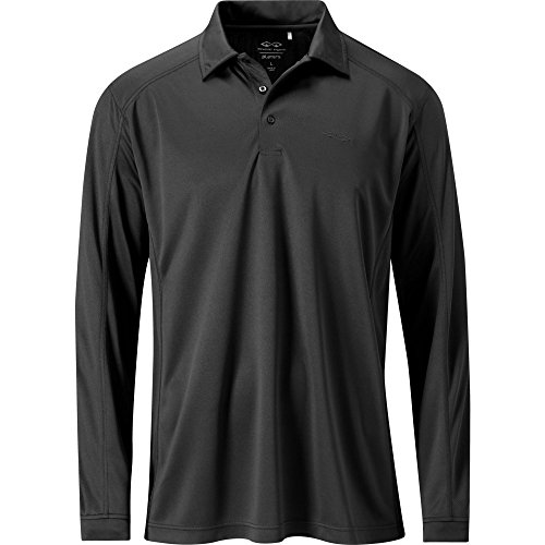 Snake Eyes Men's Players Long Sleeve Mock with Flatlock Stitch (Snake Eyes Players)