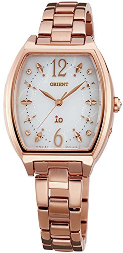 ORIENT watch iO Io costume jewelry Solar radio WI0151SD white WI0151SD Ladies by io
